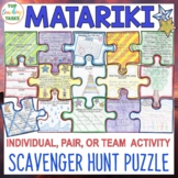 Matariki Activity Scavenger Hunt Puzzle
