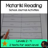 Matariki School Journal linked activities