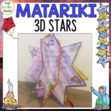 Matariki Star Activities 3D Ornament and Display