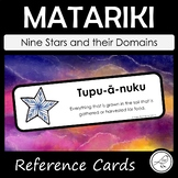 Matariki Star Domains - Reference Cards