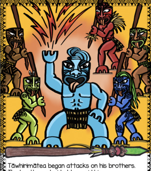 Matariki-The Eyes of the God Tāwhirimātea COLLABORATIVE