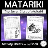 Matariki – The Seven Stars of Matariki – Activity Sheets