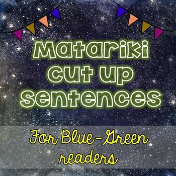 Matariki cut up sentences