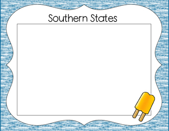 Match A State With Popsicles
