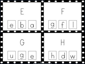 Match ABC Task Cards