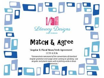 Match & Agree (Singular & Plural Noun/Verb Agreement)