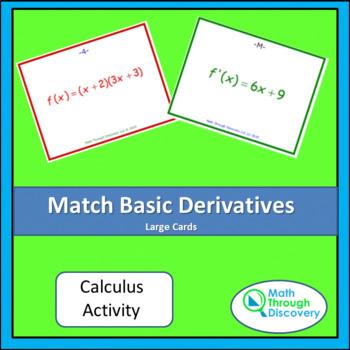 Match Basic Derivatives