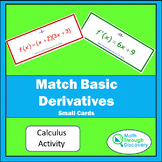 Match Basic Derivatives - Small Cards