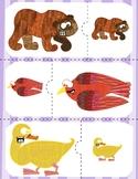 Match Big to Little | Brown Bear Animals