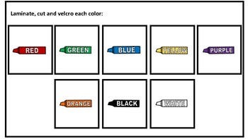 Match Colors Adapted Book