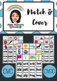 Match & Cover {CVC / CVCC WORDS}
