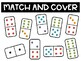Match & Cover Number Sense with Dominos