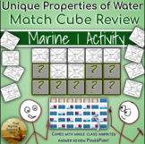 Water's Unique Properties Match Cube Review Game for Marin