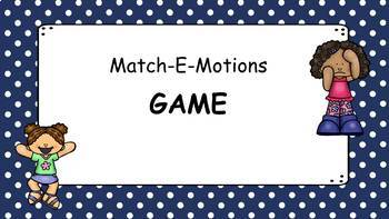 Match-E-Motions Game