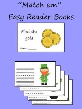 """""""Match Em"""" Easy Reader: Find the Gold"""