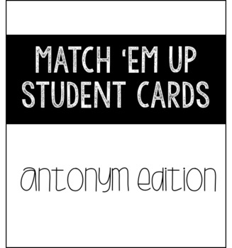 Match 'Em Up: Grammar Bundle