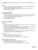 Match English and Math Statements - Paper Cutouts, Group a