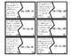 Equations/Inequalities From Word Problems Puzzles 6.EE.B.6, 6.EE.B.7, 6.EE.B.8