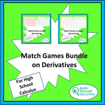 Match Game Bundle on Derivatives