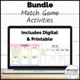Match Game Printable & Digital Activity Mega Bundle