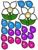 Matching Happy Dot Flowers