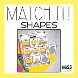 Match It! 2D Shapes Work Task