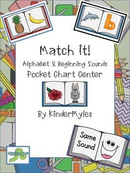 Match It! Alphabet & Beginning Sounds