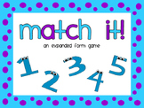 Match It: An Expanded Form Matching Game