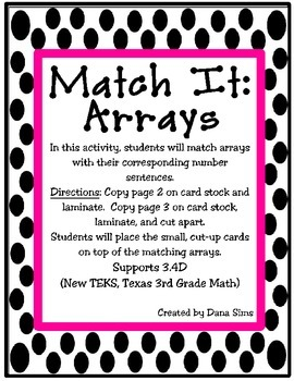 Match It: Arrays