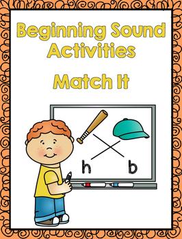 Match It - Beginning Sound Activities