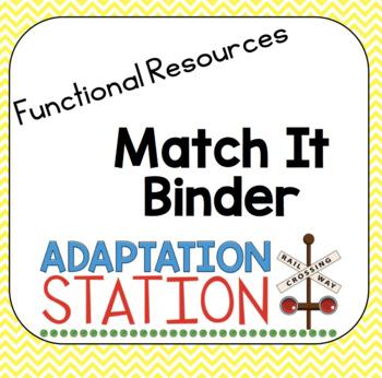 Match It Binders!