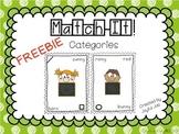 Match It! Categories FREEBIE