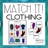 Match It! Clothing Independent Work Task