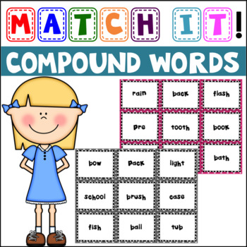 Match It: Compound Words Concentration and Cut & Paste