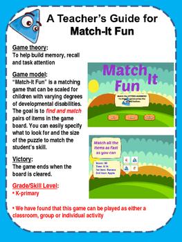 Match It Fun - pattern matching game
