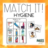 Match It! Hygiene Independent Work Task