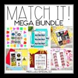 Match It! Independent Matching Work Tasks Mega Bundle