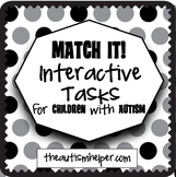 Match It! Interactive Tasks for Children with Autism