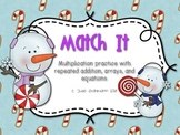 Match It! - Multiplication with Arrays and Repeated Addition