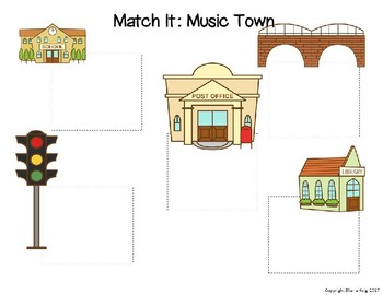 Match It! Music Town: A Battleship-style Game