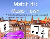 Match It! Music Town: A Battleship-style Game