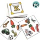 Match It Quick Bundle for Early Elementary Sounds - Square