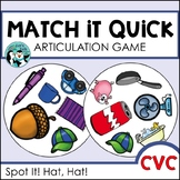 CVC Game - Match It Quick