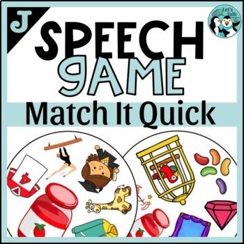 J Articulation Game: Match It Quick
