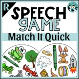 Prevocalic /r/ and /r/ Blends Match It Quick Game