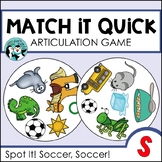S Articulation Game for Speech Therapy