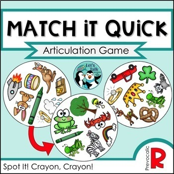 Match It Quick Savings Bundle - Later Developing Sounds