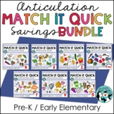 Match It Quick Savings Bundle - Early Elementary Sounds
