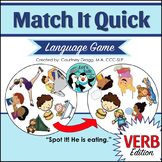 Verb/Syntax Game - Match It Quick
