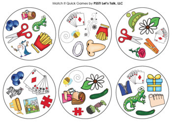 Match It Quick - Z Game for Speech Therapy